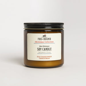 Old Fashioned Christmas Odour-Eliminator Soy Candle