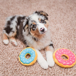 Mini Donutz Dog Toy - Blueberry
