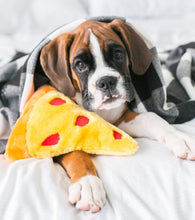 Load image into Gallery viewer, Dog Toy NomNomz Pizza