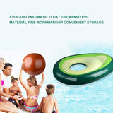 Avocado Inflatable Float