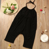 Baby Girl Strap Jumpsuit