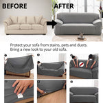 Solid Color Sofa Cover - NewVision Sofa Covers