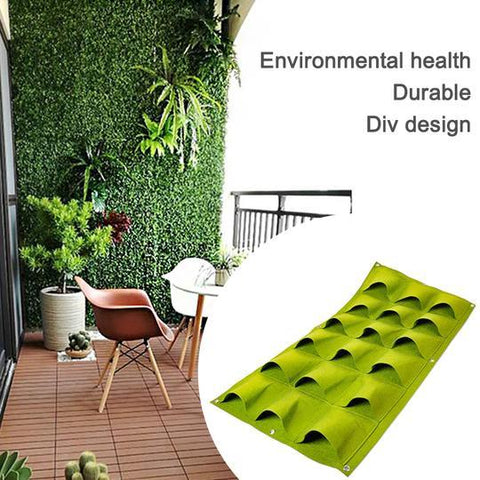 Wall Hanging Planting Bag