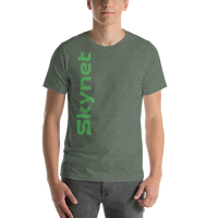 Skynet Vertical Short-Sleeve Unisex T-Shirt