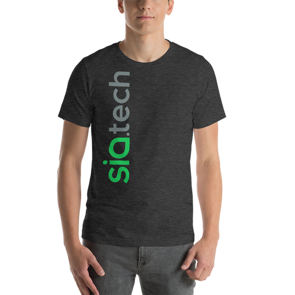 Sia.tech Vertical Short-Sleeve Unisex T-Shirt