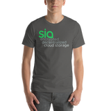 Sia Encrypted Decentralized Cloud Storage Short-Sleeve Unisex T-Shirt