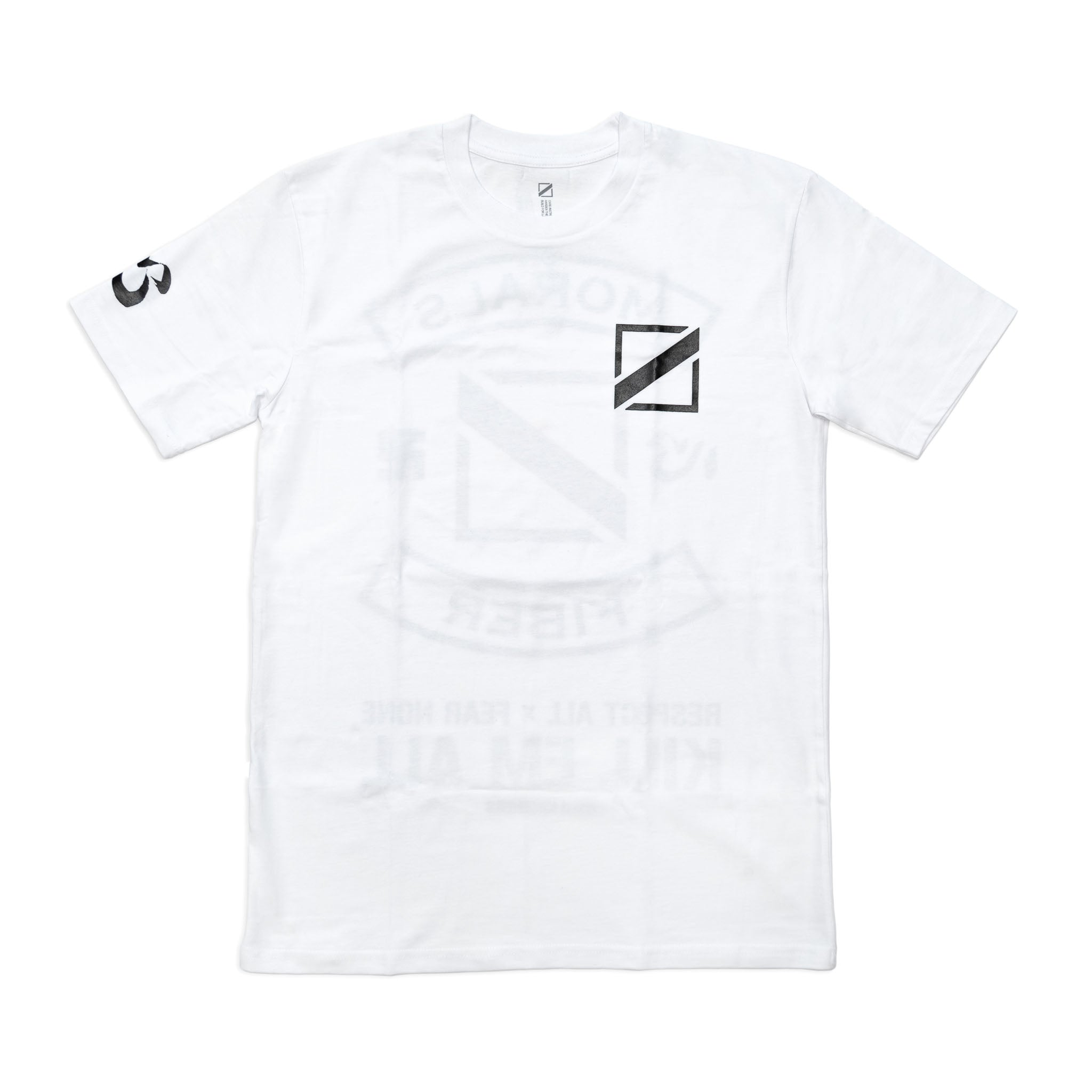 MF - COLORS TEE (WHITE)
