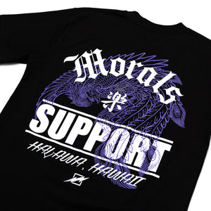MF - SUPPORT TEE (BLACK)