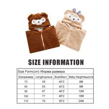 Load image into Gallery viewer, Kawaii Baby Romper Cute Bear/ Rabbit Jumpsuit Plush Toddler Clothes - Best Kawaii Shop