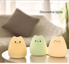 Load image into Gallery viewer, Kawaii LED Kitten Night Lamp - Best Kawaii Shop