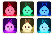 Load image into Gallery viewer, Cute Bunny USB LED Night Lamp - Kawaii Rabbit - Best Kawaii Shop