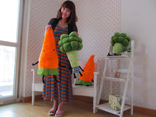 Load image into Gallery viewer, Super Cute Carrot and Broccoli - Kawaii Vegetable Plush Pillow - Best Kawaii Shop