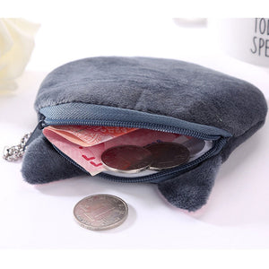 Plush Neko Zion Coin Purse Kawaii Wallet - Best Kawaii Shop