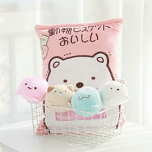Load image into Gallery viewer, A Bag of Mini Kawaii Plush Penguins/ Bears/ Sea Lions in Big Pillow (8 pcs) - Best Kawaii Shop