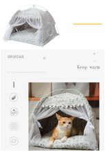 Load image into Gallery viewer, Kawaii Princess Pet Tent for Kitties and Puppies - Best Kawaii Shop