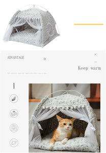 Kawaii Princess Pet Tent for Kitties and Puppies - Best Kawaii Shop