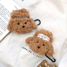 Load image into Gallery viewer, Kawaii Plush Poodle Doge AirPods Case Protector - Best Kawaii Shop
