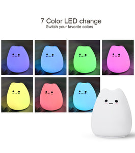 Kawaii LED Kitten Night Lamp - Best Kawaii Shop