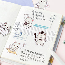 Load image into Gallery viewer, Cute Koneko Meng Cats Stickers Stationery - Best Kawaii Shop