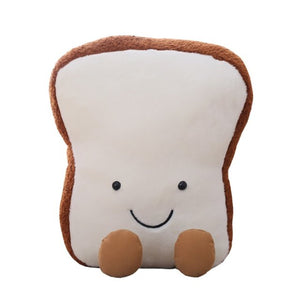 Super Cute Kawaii Plushy Toast Bread Pillow - Best Kawaii Shop