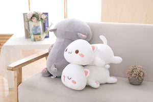 Kawaii Lying Cat Plush - Stuffed Cute Cat Pillow - Best Kawaii Shop