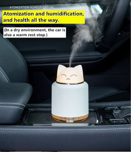 Mini Kawaii Pet Humidifier and Night Lamp  - Cute Oil Diffuser - Best Kawaii Shop