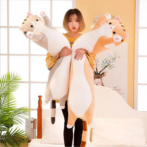 Kawaii Long Cat Stuffed Pillow - Best Kawaii Shop