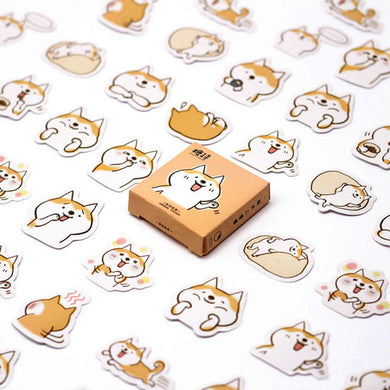 45pcs Corgi & more Stationery Stickers - Cute Decorative Stickers - Best Kawaii Shop