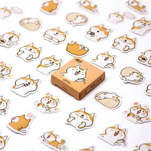 Load image into Gallery viewer, 45pcs Corgi & more Stationery Stickers - Cute Decorative Stickers - Best Kawaii Shop