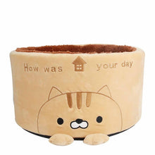 Load image into Gallery viewer, Cute Kawaii Comfy Nest Kitten Basket - Best Kawaii Shop