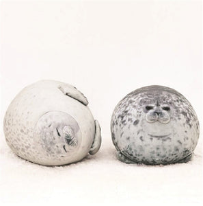 Kawaii Seal - Cute Sea Lion Plush Super Soft Stuffed Sleeping Pillow - Best Kawaii Shop