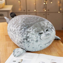 Load image into Gallery viewer, Kawaii Seal - Cute Sea Lion Plush Super Soft Stuffed Sleeping Pillow - Best Kawaii Shop