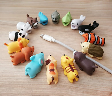 Cute USB Cable Bites - Kawaii USB Cable Protector Cable Buddies - Best Kawaii Shop