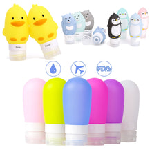 Load image into Gallery viewer, Kawaii Portable Silicone Refillable Travel Bottle - Best Kawaii Shop