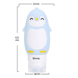 Kawaii Portable Silicone Refillable Travel Bottle - Best Kawaii Shop
