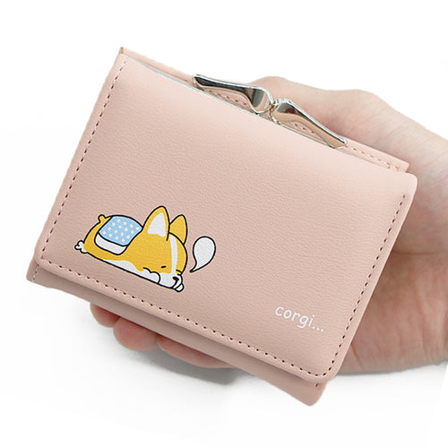 Kawaii Cute Corgi Doge Inu Purses - Best Kawaii Shop