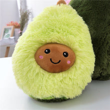 Load image into Gallery viewer, Kawaii Fluffy Avocado Plushy Pillow - Best Kawaii Shop