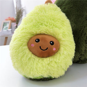 Kawaii Fluffy Avocado Plushy Pillow - Best Kawaii Shop