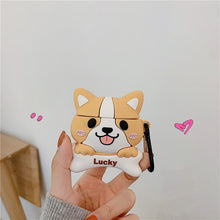 Load image into Gallery viewer, Kawaii Corgi Earphone Case for AirPods 1,2 and AirPods Pro - Best Kawaii Shop