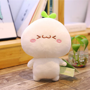 Funny Kawaii Dumpling Pillow Stuffed Cushion - Best Kawaii Shop