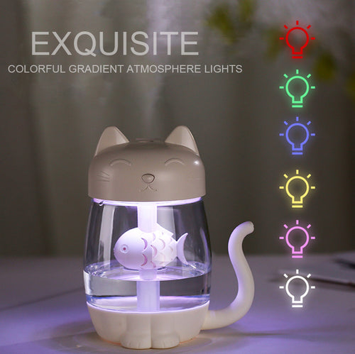 Kawaii Air Humidifier and Essential Oil Diffuser With LED Light - Best Kawaii Shop