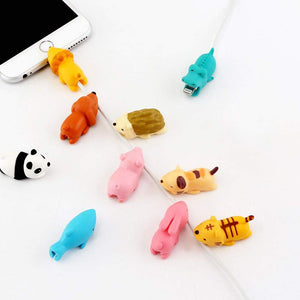 Cute Cable Bite Animals - Protector For Phone Charging Cord Cable - Best Kawaii Shop