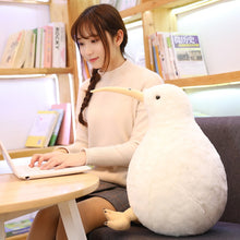 Load image into Gallery viewer, Cute Kiwi Bird Plush Toy Stuffed Pillow and Soft Plush Kiwi Bird Cushion - Best Kawaii Shop