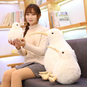 Cute Kiwi Bird Plush Toy Stuffed Pillow and Soft Plush Kiwi Bird Cushion - Best Kawaii Shop