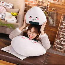 Load image into Gallery viewer, Kawaii Japanese Rice Ball Sticky Rice Pillow - Best Kawaii Shop