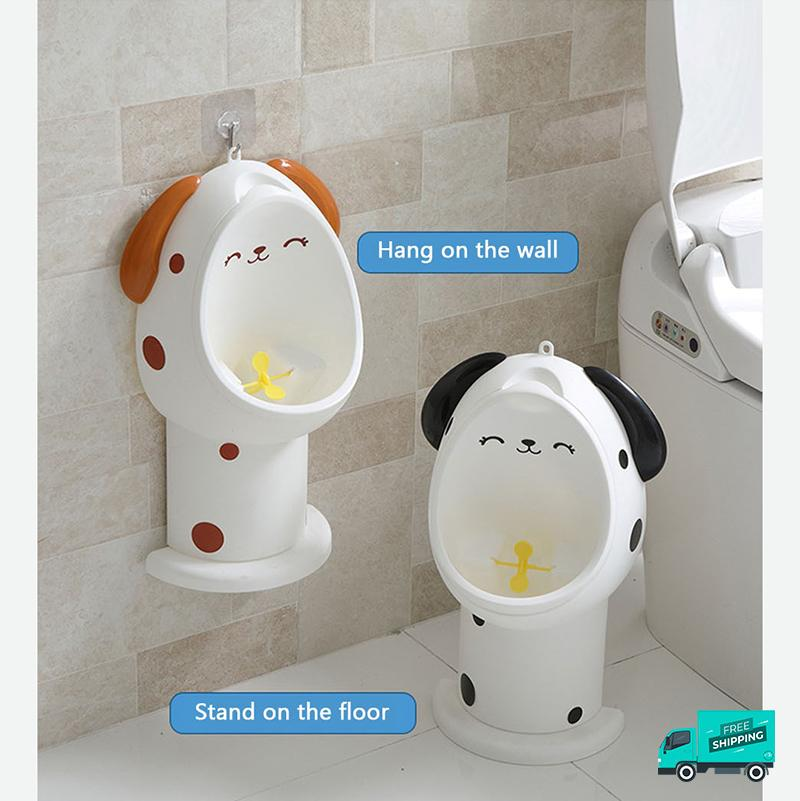 Hang on wall or stand on the floor of Animal Potty Toilet Urinal Training