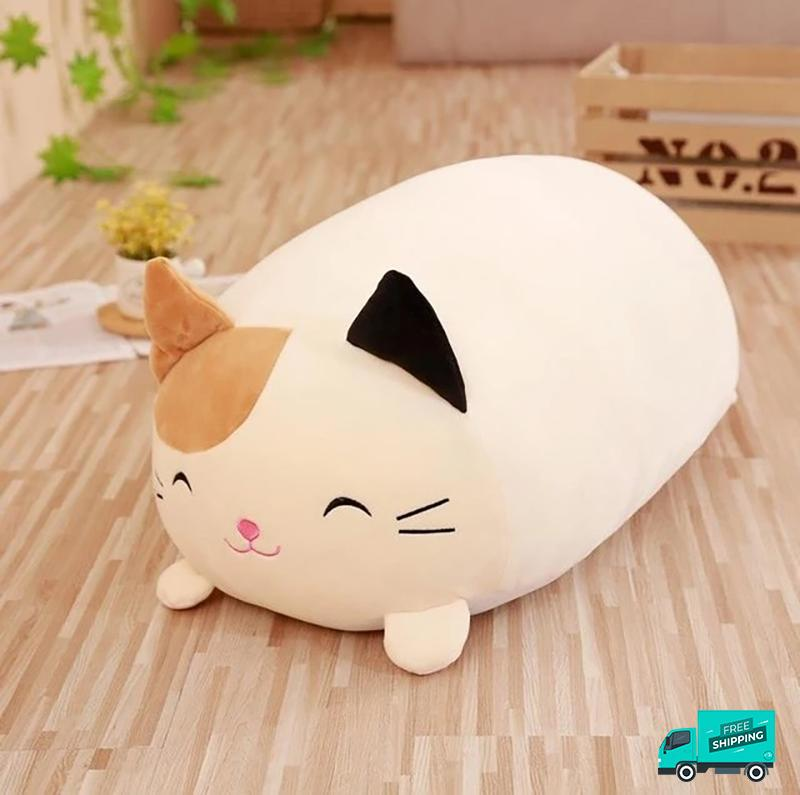 Animals Stuffed Soft Pillow Cat
