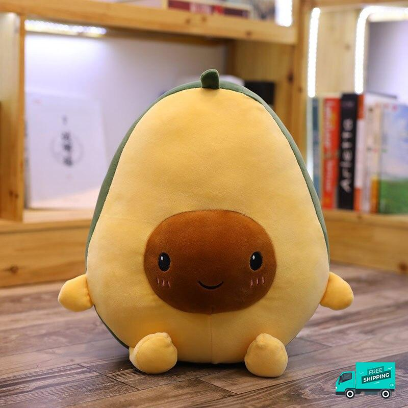 Avocado Soft Pillow Plush Toy 2 front view