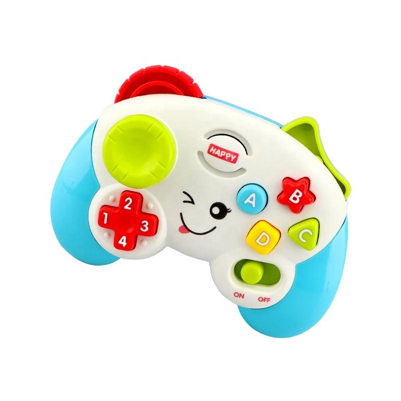 Educational baby game toy controller with lights and sound image 1