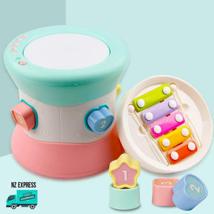 Baby colourful learning toy blocks with lights and music with xylophone, another view